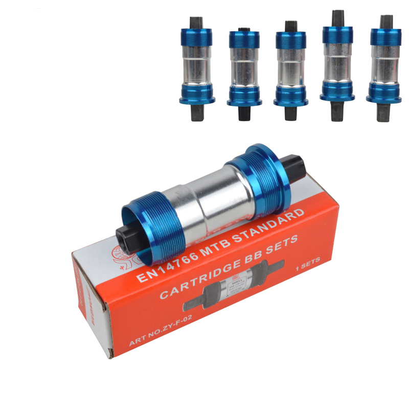 Mountain Bike Sealed Bottom Bracket 68x103/107/110.5/113/116/118/120/122.5/124.5/127.5mm Bicycle Central Bearing Axis