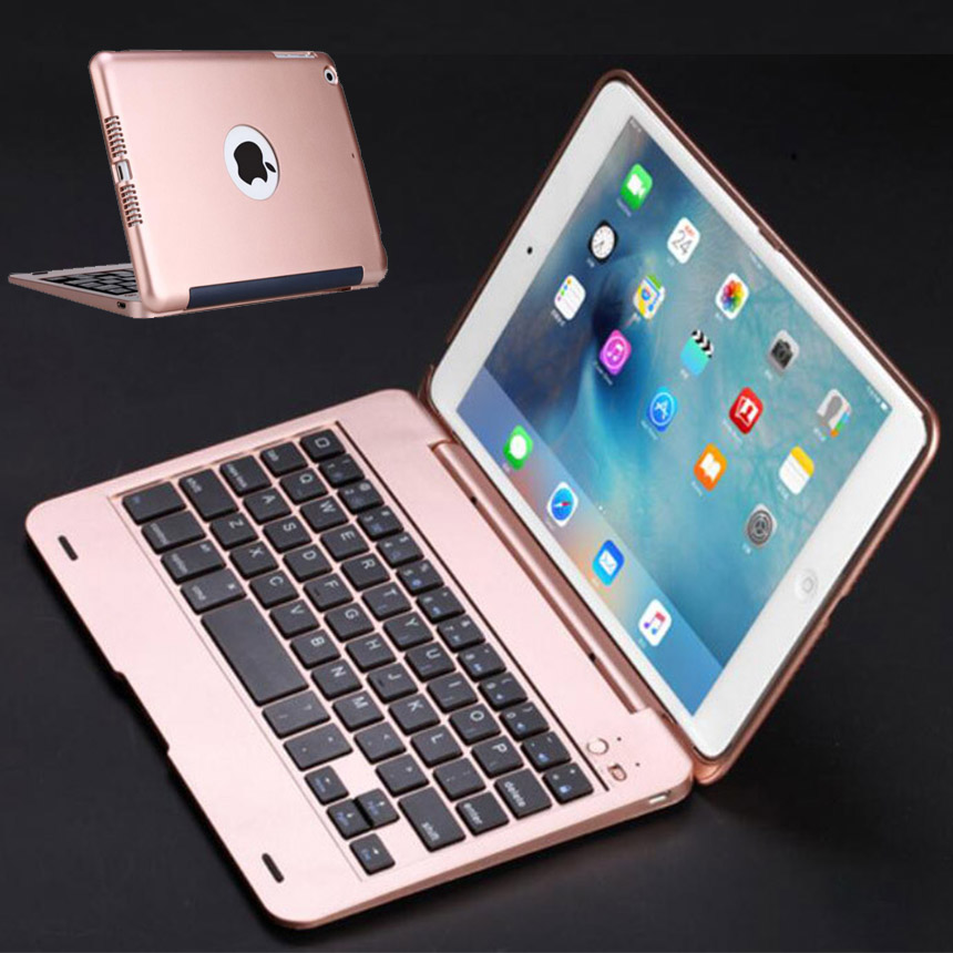New ABS Coque for iPad mini Keyboard Case Bluetooth Wireless Keyboard Flip Stand Case for iPad mini 2 mini 3 Case with Keyboard image