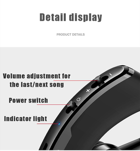Image 5 - V9 Business Wireless Bluetooth Headset With Mic Voice Control Handsfree Car Bluetooth Earphone Noise Control for Driver Sport