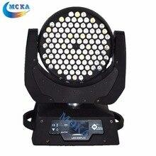 2 шт./лот дешевые 108 * 3 Вт RGBW из светодиодов перемещение головы профессиональный dj освещения