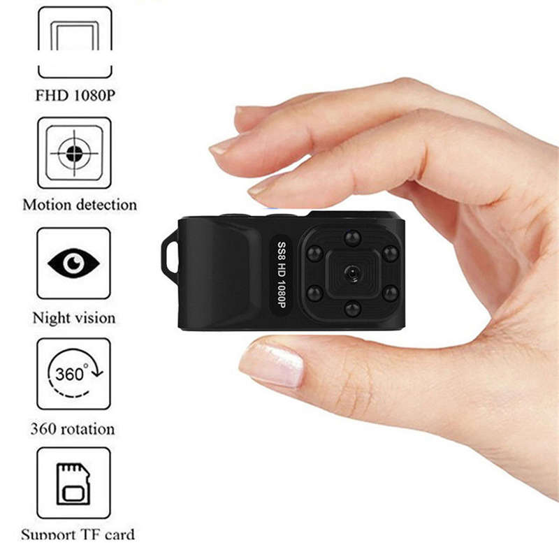 Image 4 - SS8 Mini Pro Hd 1080p Ca r Dvr Motion Infrared IR Mini Sport Dv Camera Wide-in Sports & Action Video Camera from Consumer Electronics