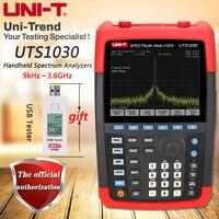 Handheld UTS1030 портативный анализатор спектра, частотный диапазон 9 кГц ~ 3,6 ГГц