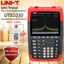 UNI-T UTS1030 Handheld Spectrum Analyzer, frequency range 9kHz ~ 3.6GHz