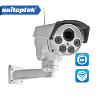 HD 1080P 960P Mini Bullet Wifi PTZ IP Camera HI3516C SONY IMX323 4X Zoom Auto Focus