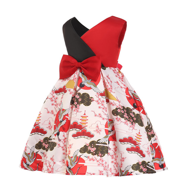 bc89b9dcef131d Baby Girl embroidery Silk Princess Dress for Wedding party Kids Dresses for Toddler  Girl Children Fashion Clothing
