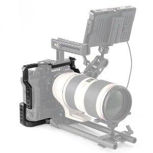 Image 5 - SmallRig DSLR Cage Fotocamera per Fujifilm X T3/per Fujifilm X T2 Fotocamera con Presa Della Batteria di Trasporto libero 2229