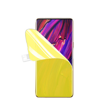 High Quality Soft Hydrogel Front Screen Protector Flim For ZTE Nubia X 3D Soft Tpu Nano Front Screen Protector For ZTE Nubia X