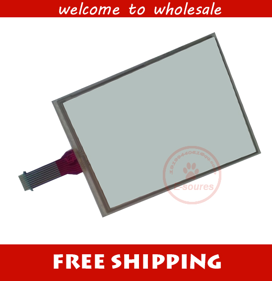 ФОТО New For GT GUNZE U.S.P. 4.484.038 KGJ-01 8 Wires Touch Screen Digitizer Panel Glass