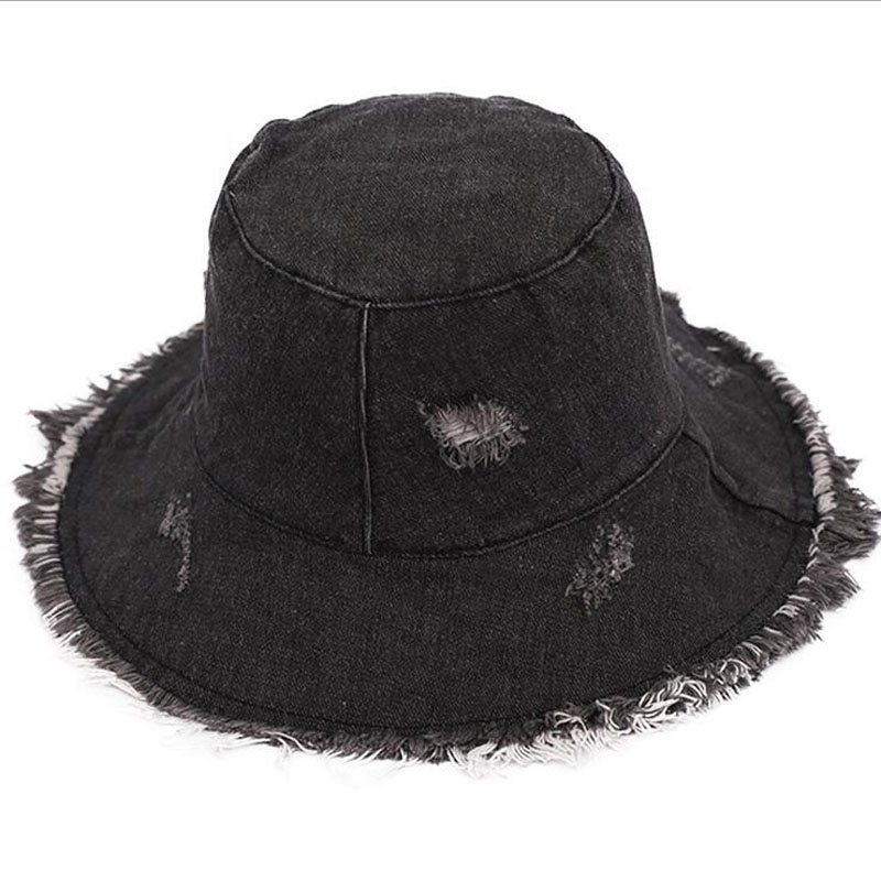 new spring summer burrow cowboy fisherman 39 s hat woman sunshade leisure wear a broken rim hats can be folded wash cloth cap in Men 39 s Bucket Hats from Apparel Accessories