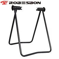 ROBESBON Steel Mountain Bike Repair Stand Bicycle Maintenance Rack Adjustable Kickstand Bagageiro Bicicleta Soporte Bici