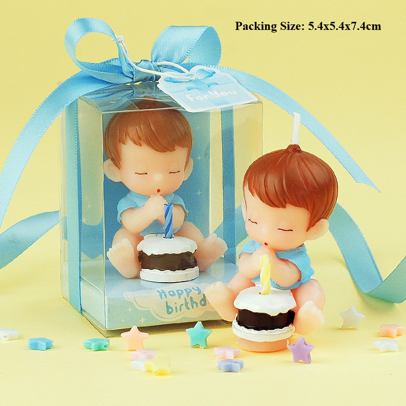first 2 birthday candle children decoration candles for cakes baby boy girl party shower cake