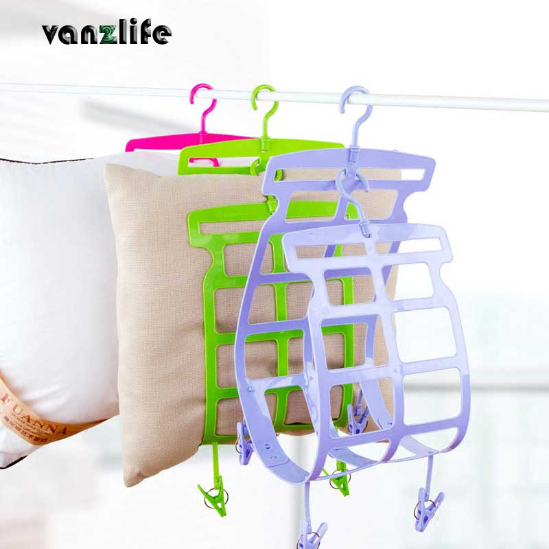 vanzlife hanger adjustable sun pillow clip small toy pillow pillow rack with sun hung to dry ...