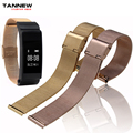 New listing B2 stainless steel replacement strap for Huawei B2 Talkband black gold silver rose gold