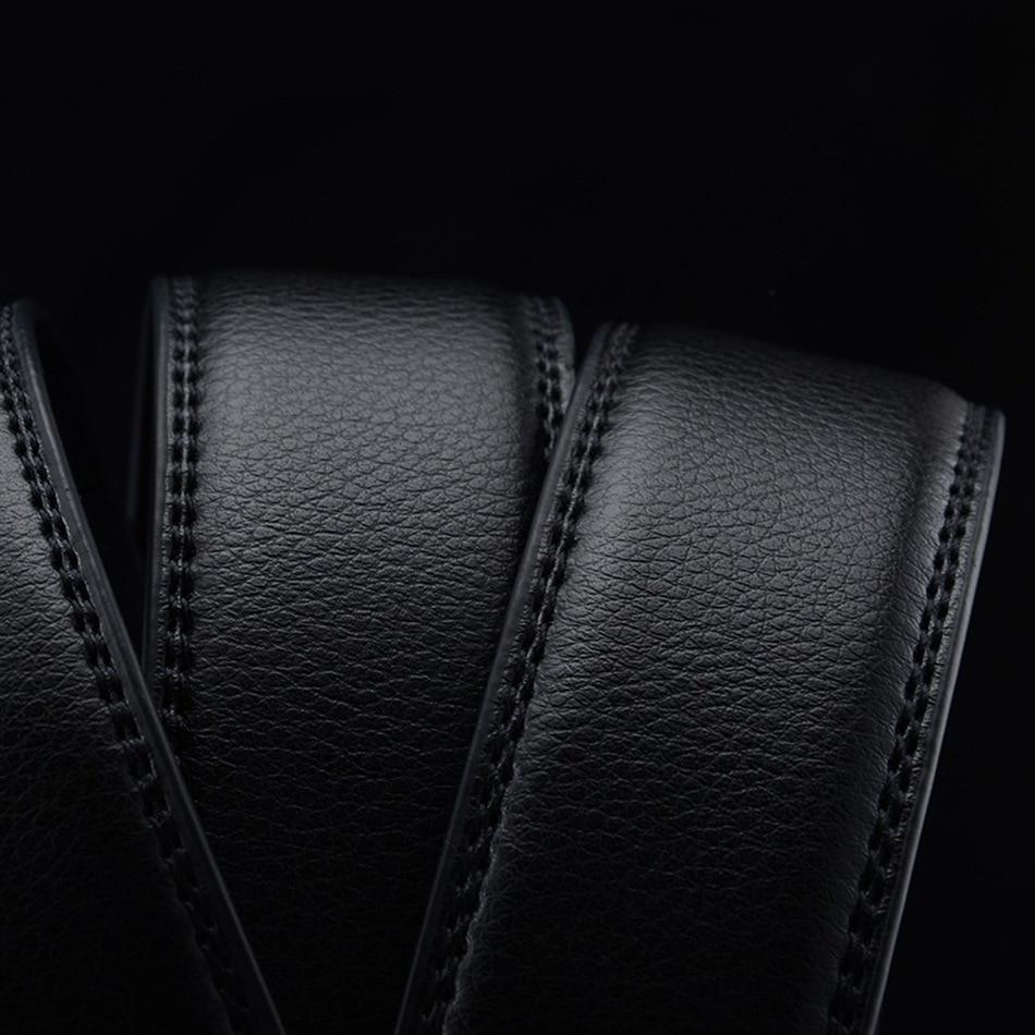 WOWTIGER Դիզայներ Luxury կաշվե ժապավեն - Հագուստի պարագաներ - Լուսանկար 6