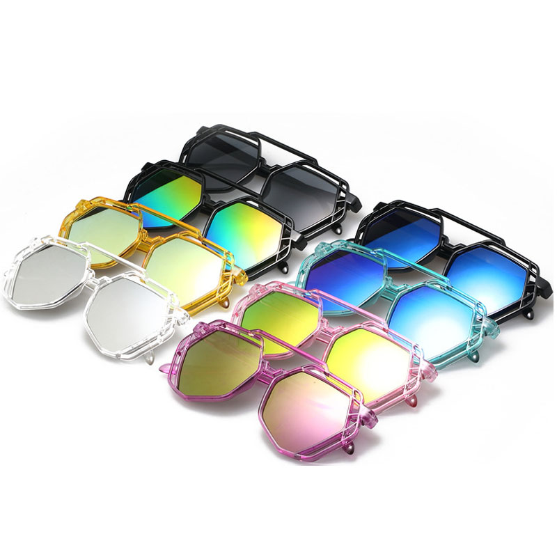 New Women Luxury Cat Eye Sunglasses with CASE Women Sunglasses Double-Deck UV400 Lady Polarized Elegant Oculos De Sol Feminino
