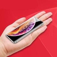 Тонкий разблокированный мобильный телефон Bluetooth номеронатор анти-потеря FM радио Две сим-карты карманный мобильный телефон telefon русский язы...