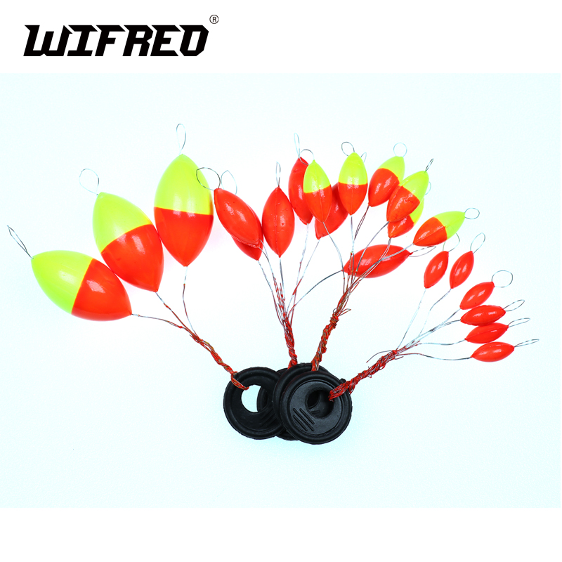 [10set=60pcs] New Seven-star Oval mini fishing float Space beans Easy Use Floater are put on the like a stopper and be fixed