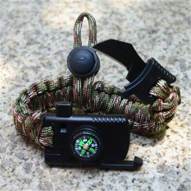 Купить плетеный браслет мужской женский уличный паракорд для выживания картинки