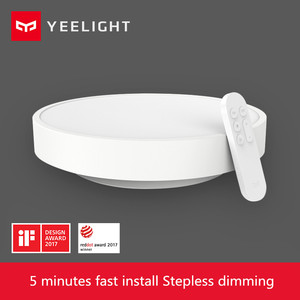 Image 2 - Transporte rápido, original yeelight smart app controle inteligente led luz de teto lâmpada ip60 dustproof wifi/bluetooth para smart app
