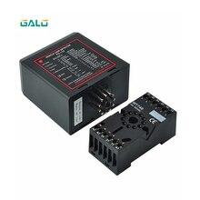 220 В детектор заземления одноканальный Индуктивный детектор петли автомобиля модуль контроллера для шлагбаума открывания ворот двигателя