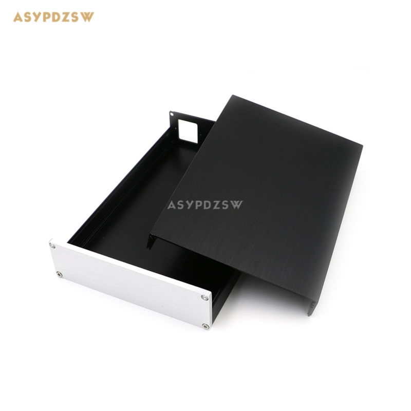 BZ1805 Full aluminum Enclosure AMP case Preamp chassis DAC/PSU box 179*51*269 wa60 full aluminum amplifier enclosure mini amp case preamp box dac chassis
