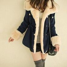 Women's Warm Winter Faux Fur Hooded Warm Coat Overcoat Long Jacket Outwear