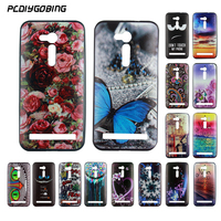 Luxury Color Painting Fundas Capa Cover Cool Gel Soft TPU Silicone Phone Case Cover Celular For Asus Zenfone GO ZB500KL 5.0