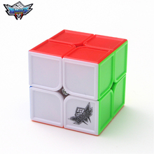 2x2x2 Cyclone Boys FeiHu Concave Magic Cube Puzzle Cubes Speed Cubo Square Puzzle Gifts Educational Toys for Children панно настенное 40 2х50 5 splendida malva из 2 пл фиолетовое