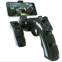 10 pçs/lote IPEGA 9057 PG-9057 Gun Estilo Sem Fio Bluetooth Gamepad Game Controller Joysticker Handset para Celular Tablet Box TV