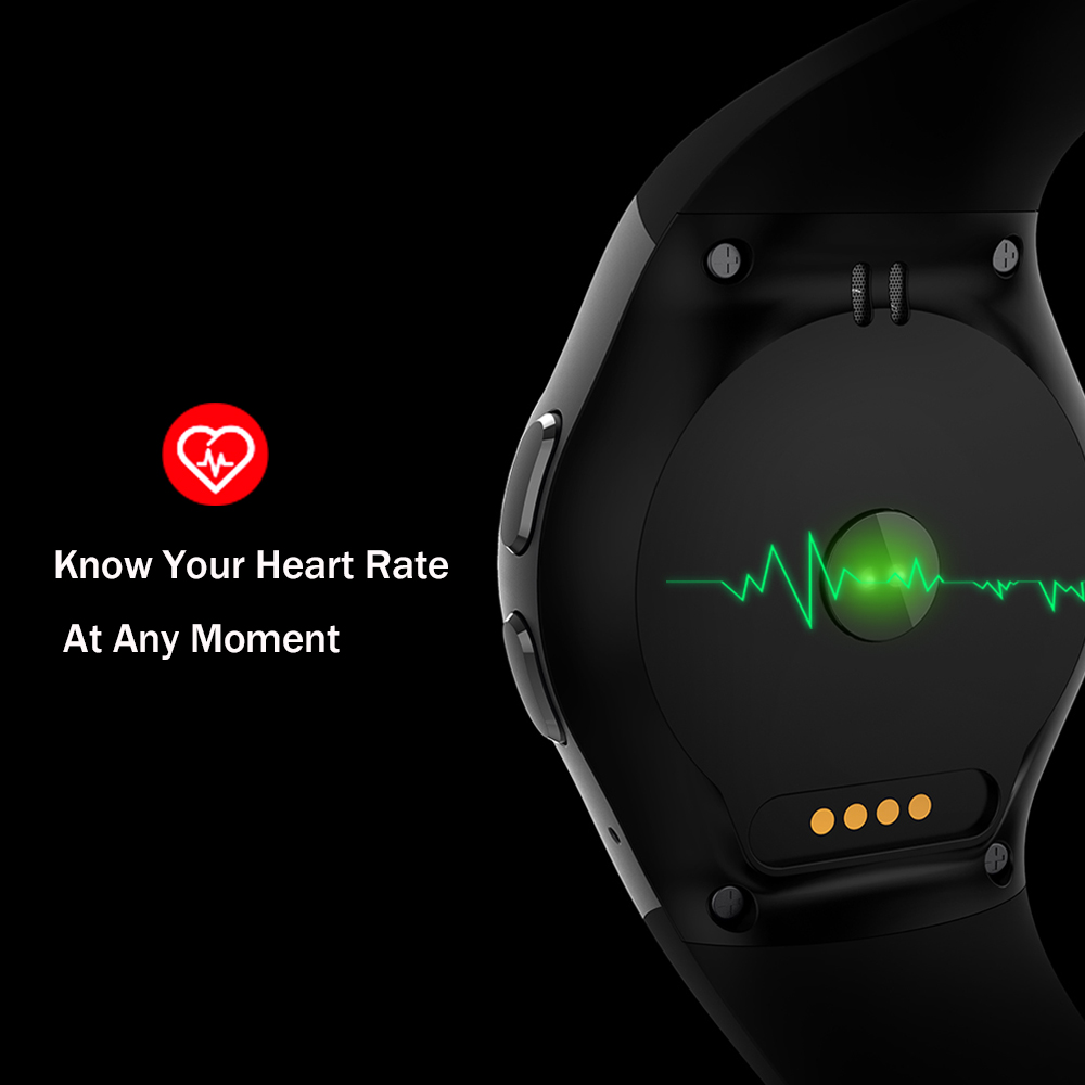 Image 3 - Kaimorui Smart Watch Pedometer Heart Rate Tracker Smartwatch Men Bluetooth Smart Watches with SIM Card for IOS Android Phone-in Smart Watches from Consumer Electronics