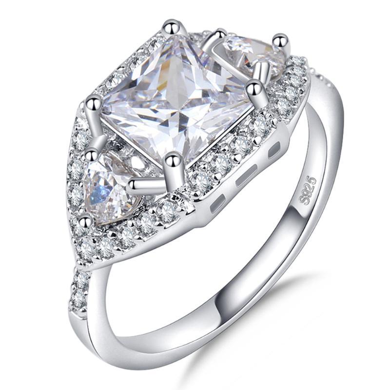 Aliexpress.com : Buy Wedding Rings For Women Crystal Rings