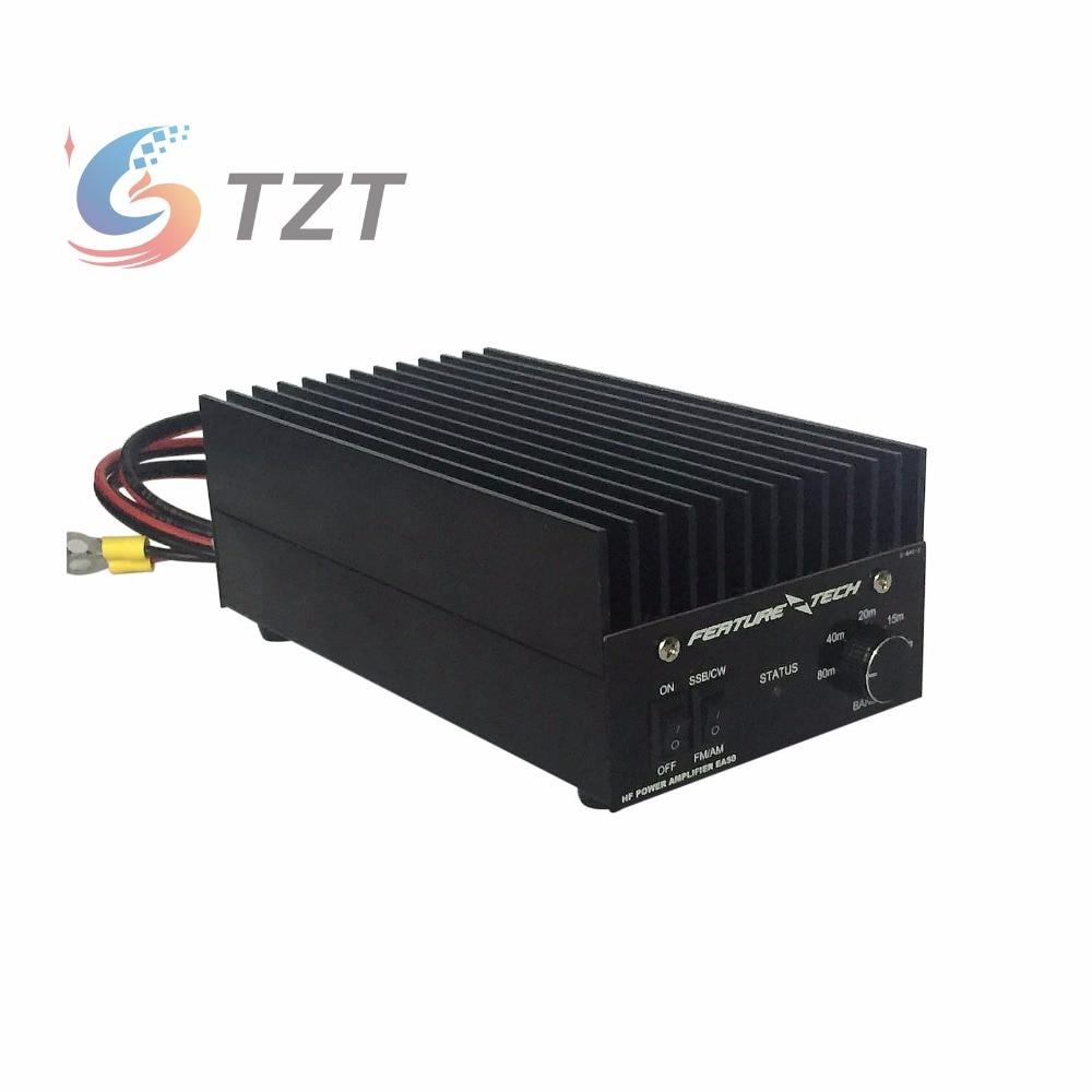 40W 1.5MHz-30MHz Shortwave Broadband Linear Power Amplifier HF Power Amplifier for FT817 IC703 HAM Radio QRP 2mhz 40mhz 50w 12 15v hf power amplifier shortwave power amplifier broadband rf amplifier