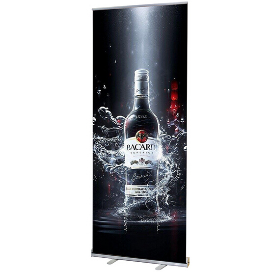 60 160mm Advertising Portable Sign Display Stand Pop Roll Up Banner Floor Portrait Poster Holder Rack Frame In From Home Garden