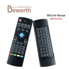 MX3 Air Mouse Backlight X8 2 4G Wireless Mini Keyboard IR Learning Fly Air Mouse Backlit