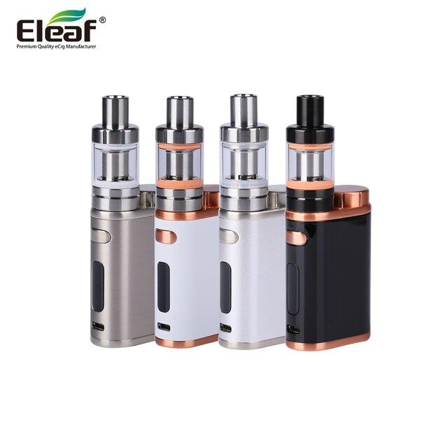 ต้นฉบับ Eleaf iStick Pico ชุด 75 W กล่อง Mod Vape บุหรี่อิเล็กทรอนิกส์ 2 ML Melo III Mini หรือ 4 ML melo 3 ถัง E - Cigarettes Vaporiz