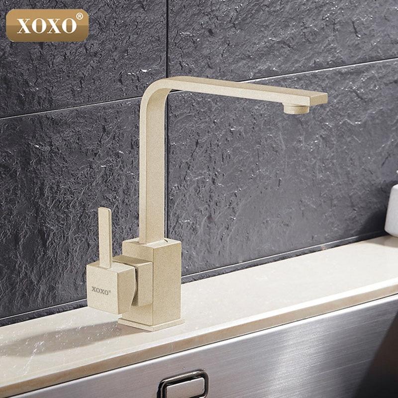 XOXO robinet de cuisine robinet d'eau froide et chaude mitigeur robinets de cuisine bec pivotant cuisine évier mitigeur robinets 83030 - 3