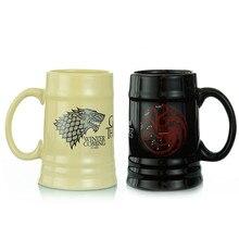 600 ML Игра престолов кофе кружки чашки для чая и кружки скоро зима огонь и кровь классное украшение большая емкость посуда