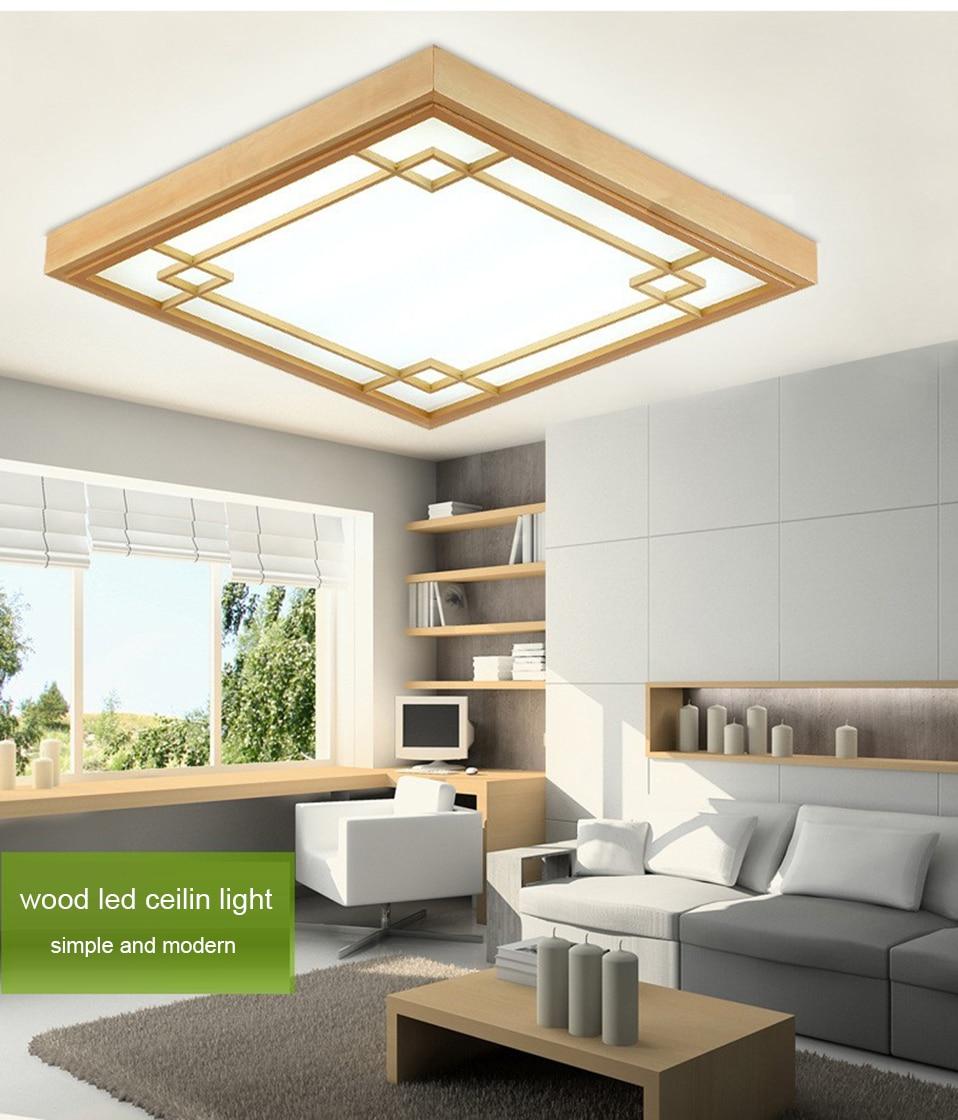 Japanese Tatami led Ceiling Lamp Bedroom Ultra thin Ceiling Lights ...
