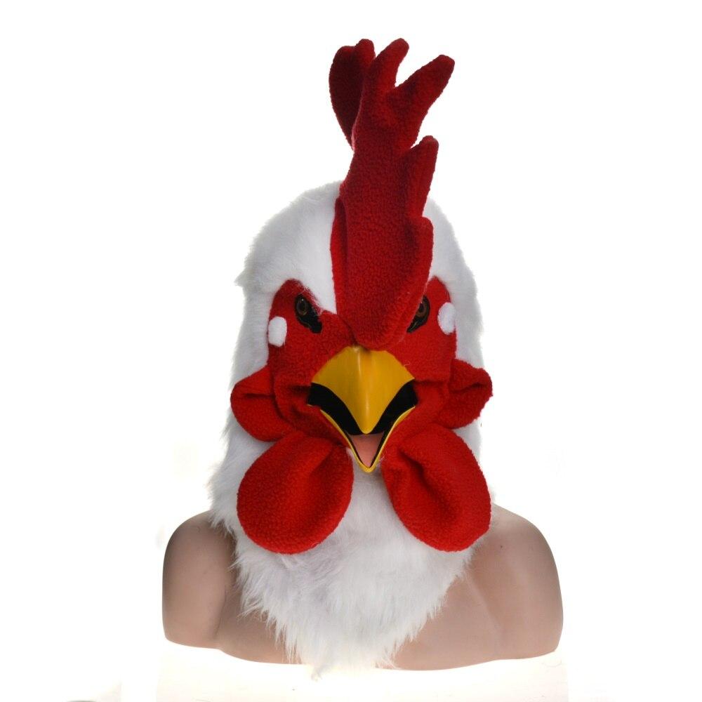 Masque de bouche mobile de coq avec le masque de bouche de déménageur conception en gros OEM ODM fabrication usine fête Halloween vacances en plein air