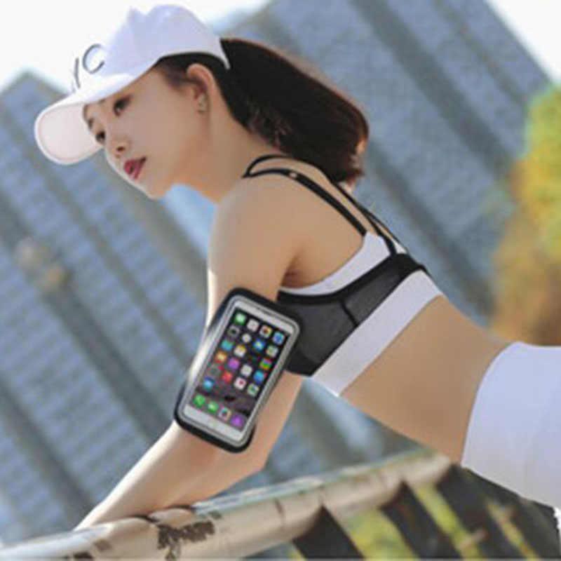 防水ユニバーサル腕章ジムスポーツケースの携帯電話の iphone スマートフォンに手
