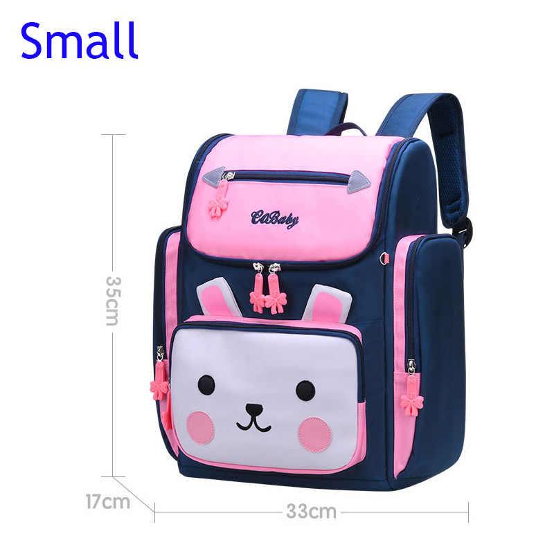 2019 mochilas escolares para niñas Mochila para niños Mochila para la primaria bolsas de escuela ortopédicas Para princesas Mochila Infantil saco a dos niños
