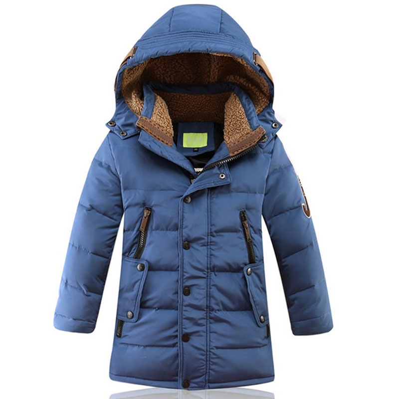 Brand Boys Winter Down Jackets Kids Clothes Children Warm Coat Jacket Toddler Boy Snowsuits Hooded Outerwear Thicken Clothing boys thick down jacket 2018 new winter new children raccoon fur warm coat clothing boys hooded down outerwear 20 30degree