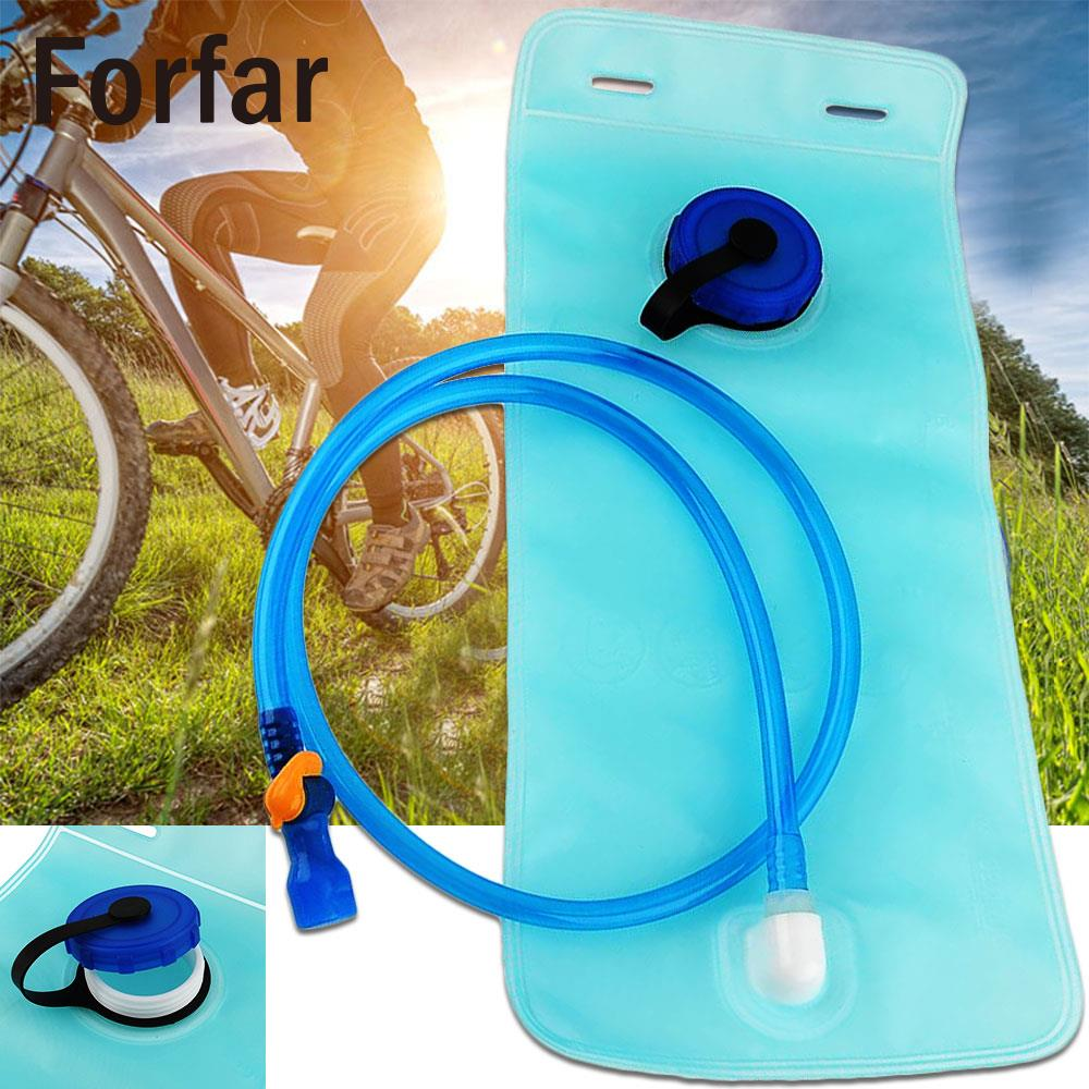 2L Bike Mouth Water Bladder Bag Pack Hydration System Camping Sports Blue cheap sale hydration water bladder bag cleaning tube hose sucker brushes drying rack set