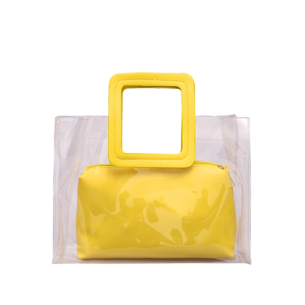 Women Bag Transparent Wild Cute Messenger Shoulder Handbag sac main femme torebka damska shopper ladies hand bags bolso mujer handbag