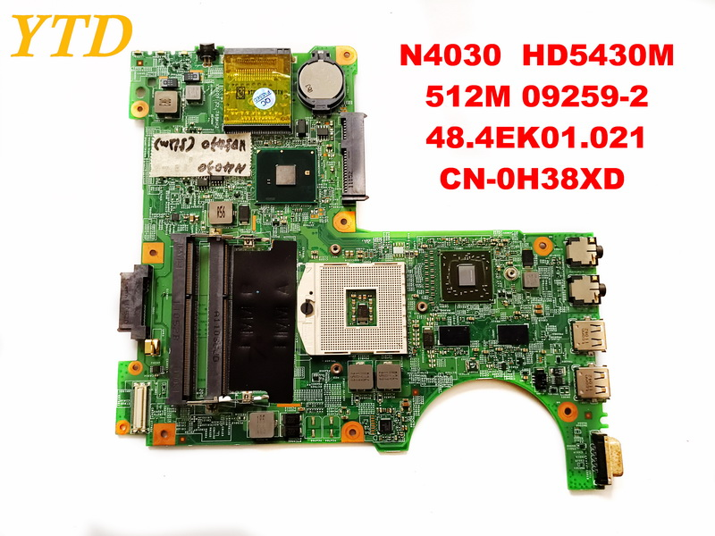 Original for DELL N4030  laptop motherboard N4030  HD5430M  512M 09259-2  48.4EK01.021  CN-0H38XD   tested good free shippingOriginal for DELL N4030  laptop motherboard N4030  HD5430M  512M 09259-2  48.4EK01.021  CN-0H38XD   tested good free shipping