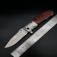 55HRC Blade 3Cr13Mov DA51 Folding Knife Outdoor Wild Jungle Survival Camping Hunting Knife Stainless Steel