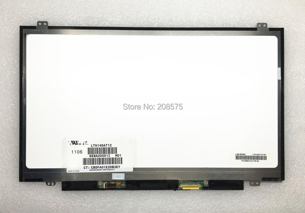 Free shipping LTN140AT12 LTN140AT37 HB140WX1-100 N140BGE-L43 M140NWR2 R1 N140BGE-LA3 laptop LCD screen LVDS 40pins 1366*768 gunsafe bs95 l43