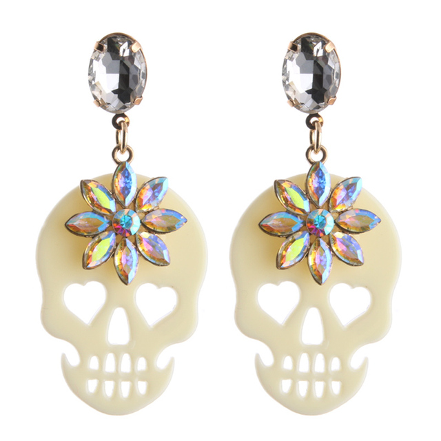 Beautiful Halloween Drop Earrings 10 Colors 5