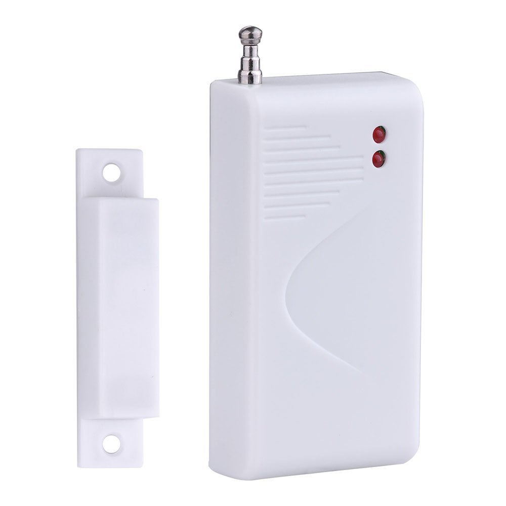 Free shipping Wireless Door Sensor for Wireless GSM Home Security Alarm System 433Mhz free shipping door stopper door holders for sale high suction