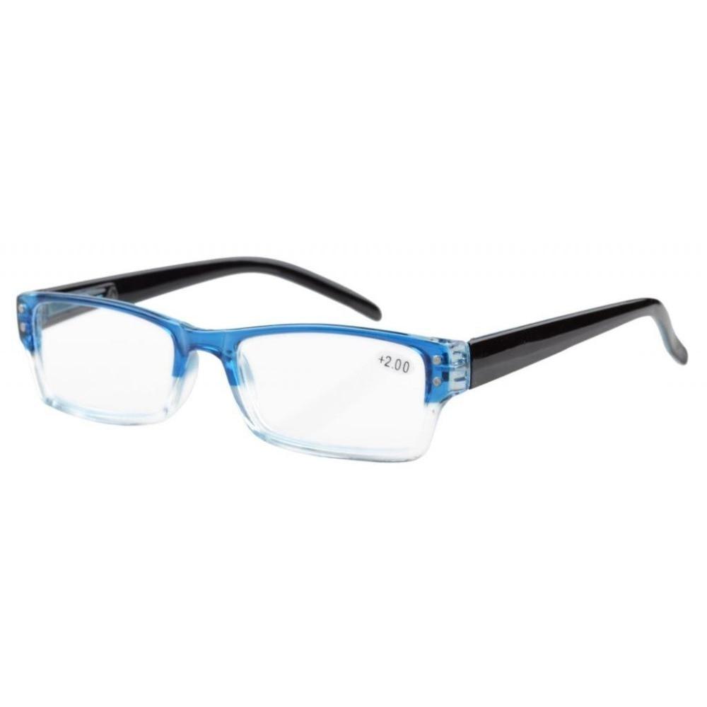 R012 Eyekepper Pomladni tečaji za branje očala za moške Ženske s torbico + 1,0 / 1,25 / 1,5 / 1,75 / 2,0 / 2,25 / 2,5 / 2,75 / 3,0 / 3,5 / 4,0